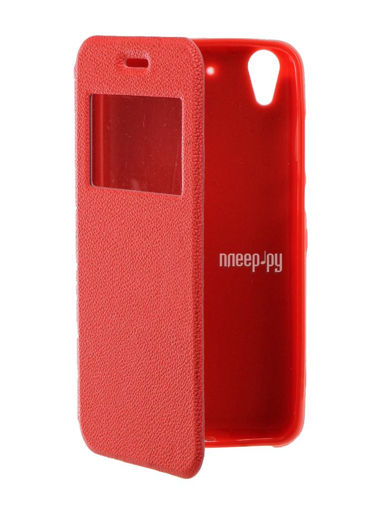 Аксессуар Чехол Huawei Honor Y6II Gecko Book Red G-BOOK-HUAW-Y6 II-RED