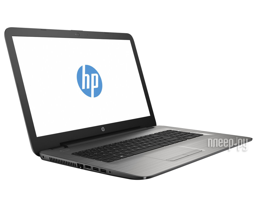 Ноутбук HP 17-x047ur 1LY12EA (Intel Pentium N3710 1.6 GHz / 4096Mb / 1000Gb / DVD-RW / AMD Radeon R5 M430 2048Mb / Wi-Fi / Bluetooth / Cam / 17.3 / 1920x1080 / Windows 10 64-bit)