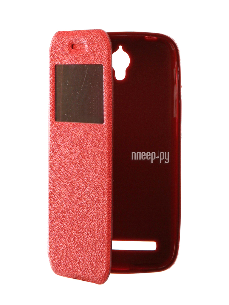 Аксессуар Чехол ASUS ZenFone Go ZC451TG Gecko Book Red G-BOOK-AS-ZC451TG-RED
