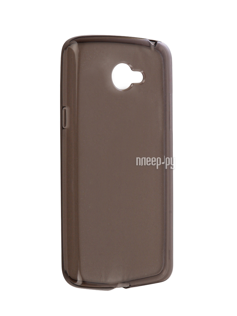 Аксессуар Чехол LG K5 X220ds Gecko Transparent-Glossy Black S-G-LGK5-BL