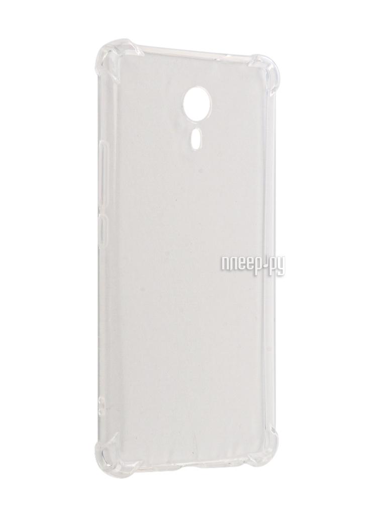 Аксессуар Чехол Meizu M3 Max Gecko Silicone Glowing White S-G-SV-MEIZUM3MAX-WH