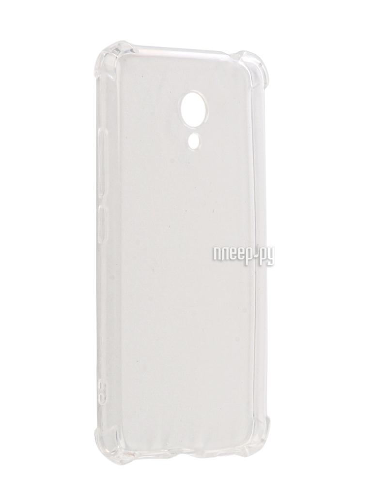 Аксессуар Чехол Meizu M3 Gecko Silicone Glowing White S-G-SV-MEIZUM3-WH