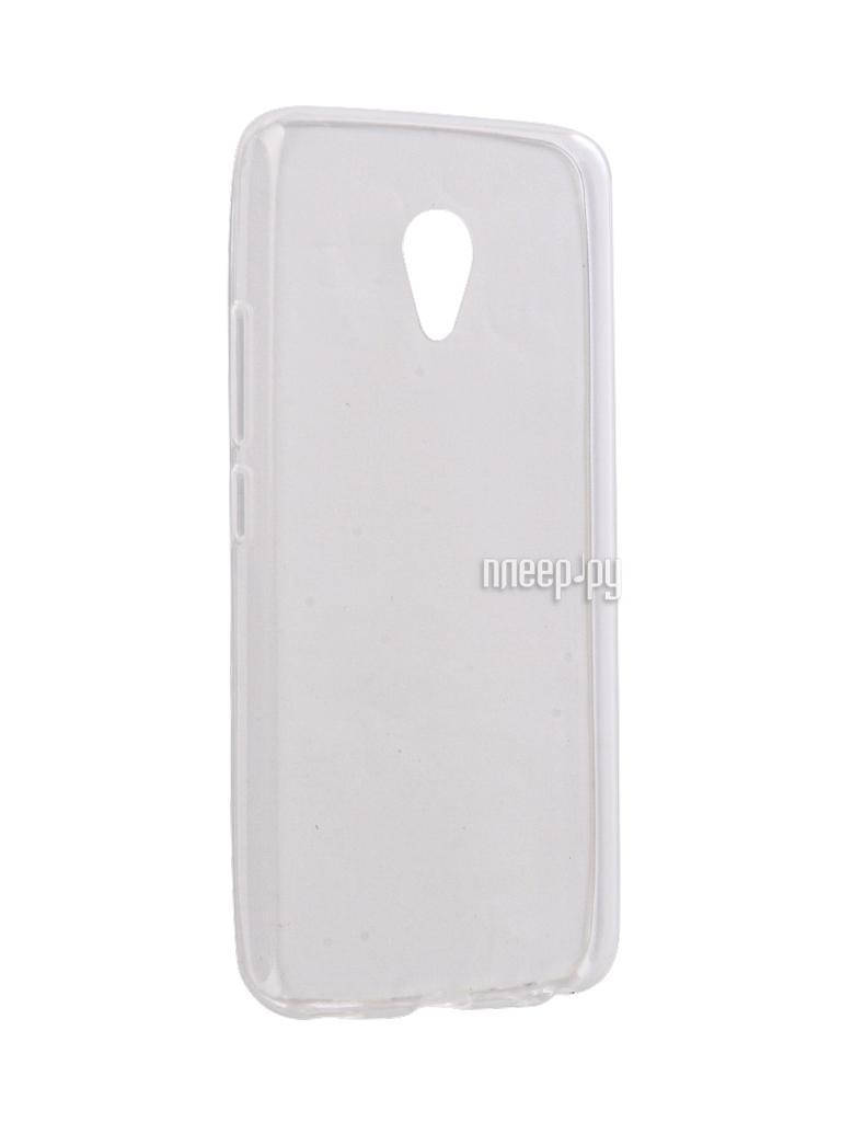 Аксессуар Чехол Meizu M5 Gecko Silicone Glowing White S-G-SV-MEIZUM5-WH