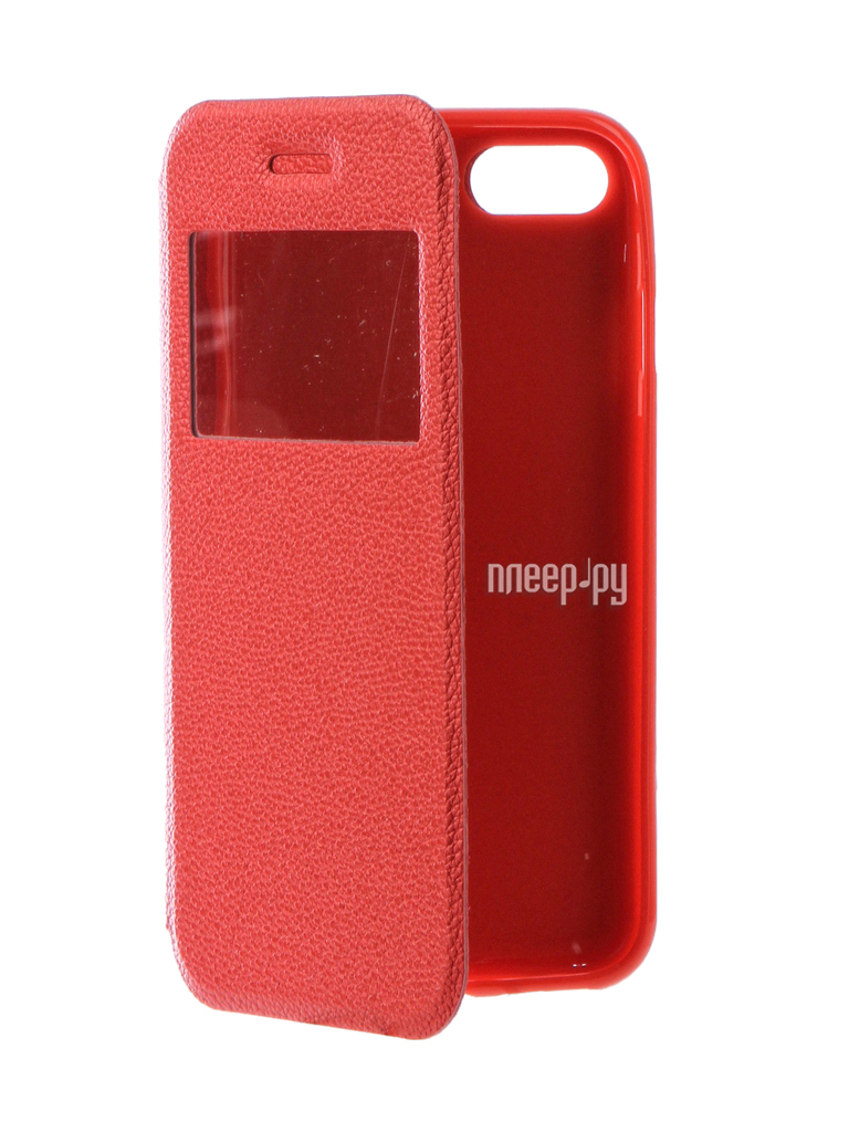 Аксессуар Чехол Gecko Book для iPhone 7 (4.7) Red G-BOOK-IPH-7-RED