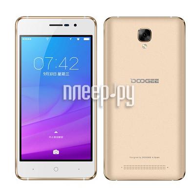 Сотовый телефон DOOGEE X10 Gold-Mocha