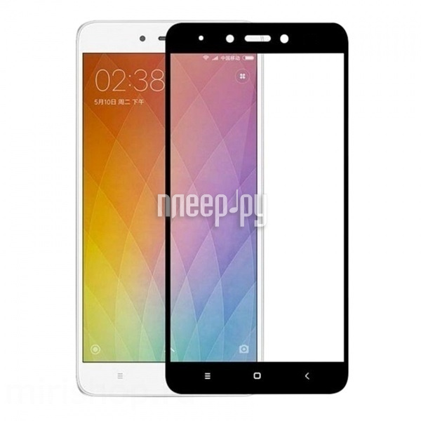 Аксессуар Защитное стекло Xiaomi Redmi Note 4X Ainy Full Screen Cover 0.33mm Black