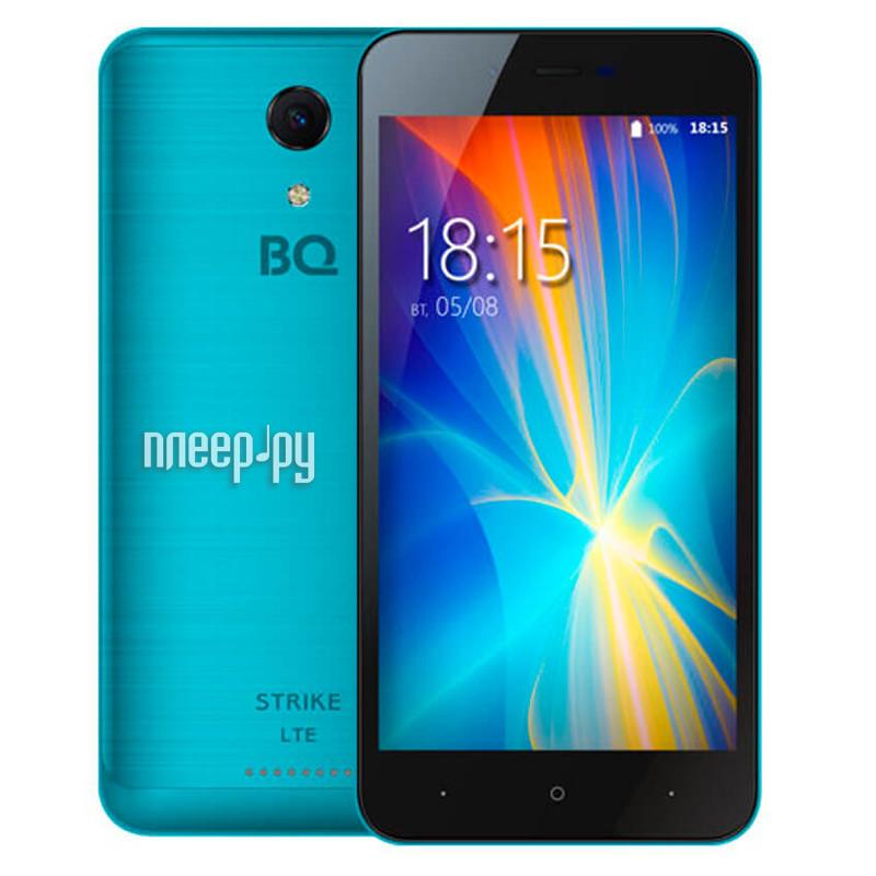 Сотовый телефон BQ 5044 Strike LTE Blue Brushed