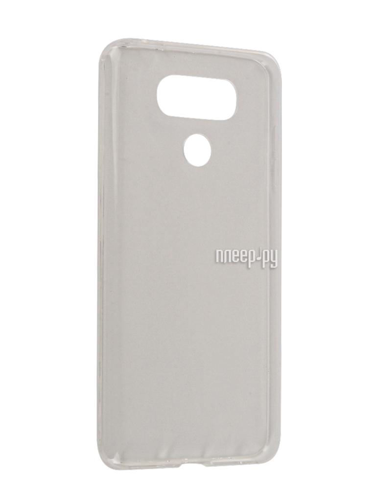 Аксессуар Чехол LG G6 BROSCO Silicone Transparent LG-G6-TPU-TRANSPARENT