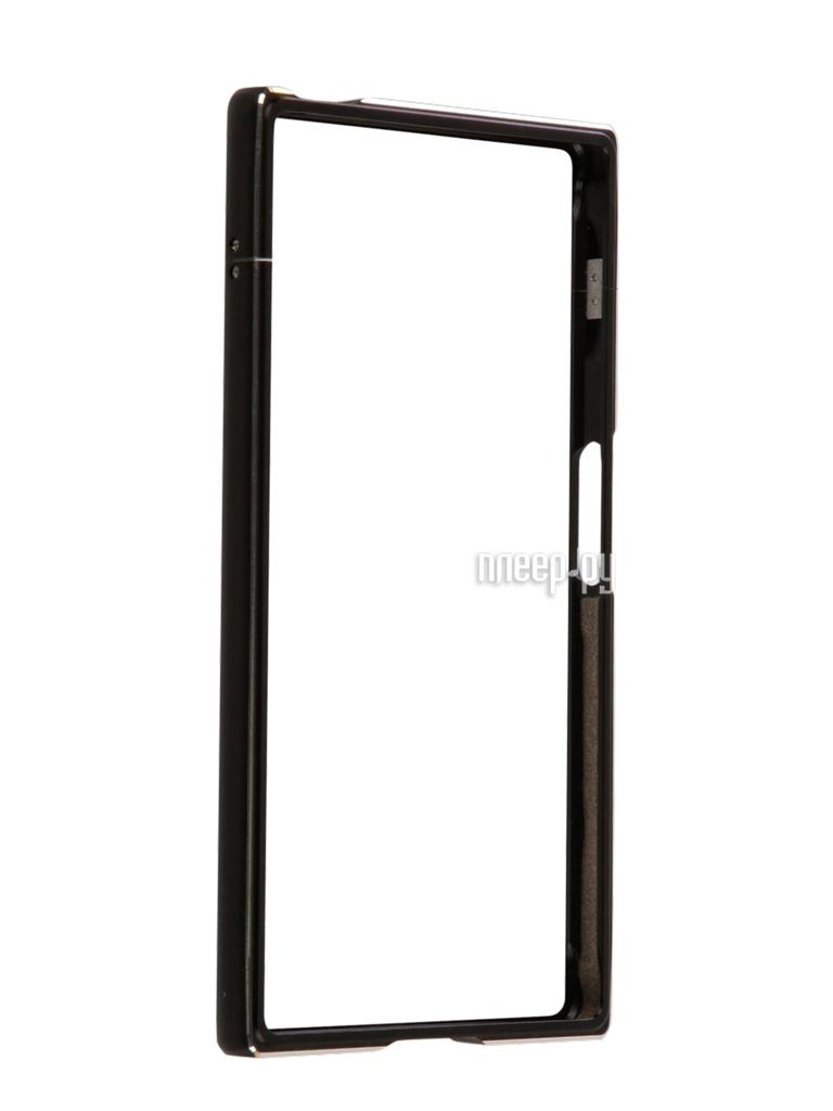 Аксессуар Чехол Sony Xperia XZs BROSCO Black XZS-BMP-BLACK