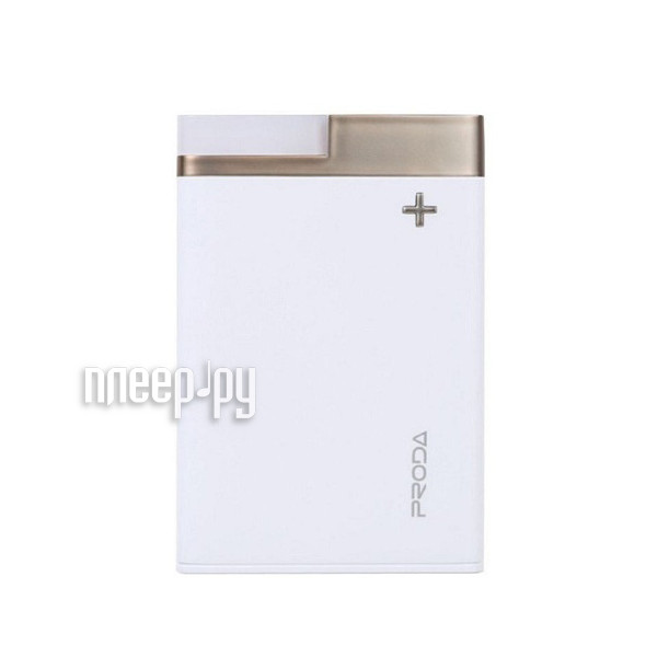 Аккумулятор Remax Power Bank Proda PPL-20 Crave 12000mAh White-Gold 71877