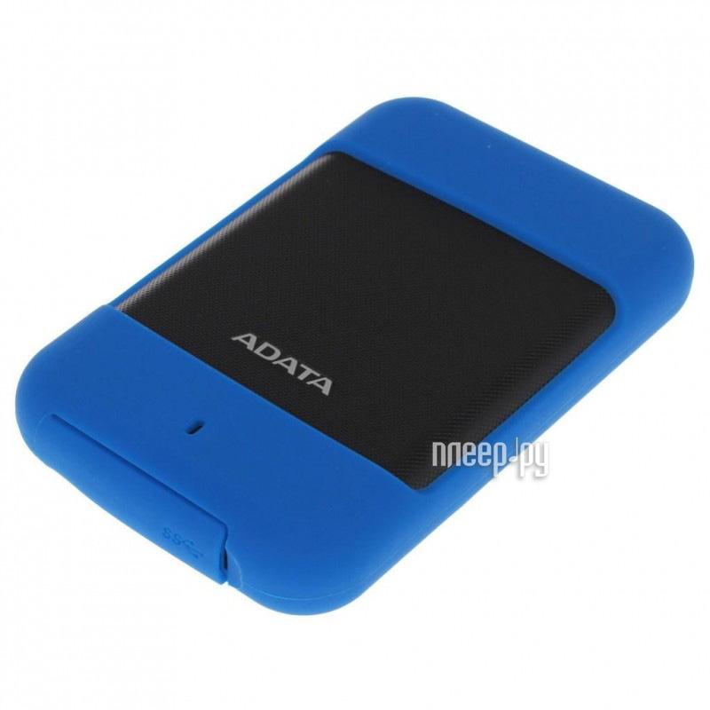 Жесткий диск A-Data HD700 2Tb Blue AHD700-2TU3-CBL