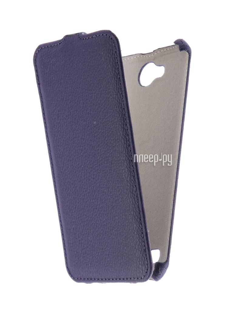 Аксессуар Чехол LG X Power 2 M320 Zibelino Classico Dark Blue ZCL-LG-M320-DBL