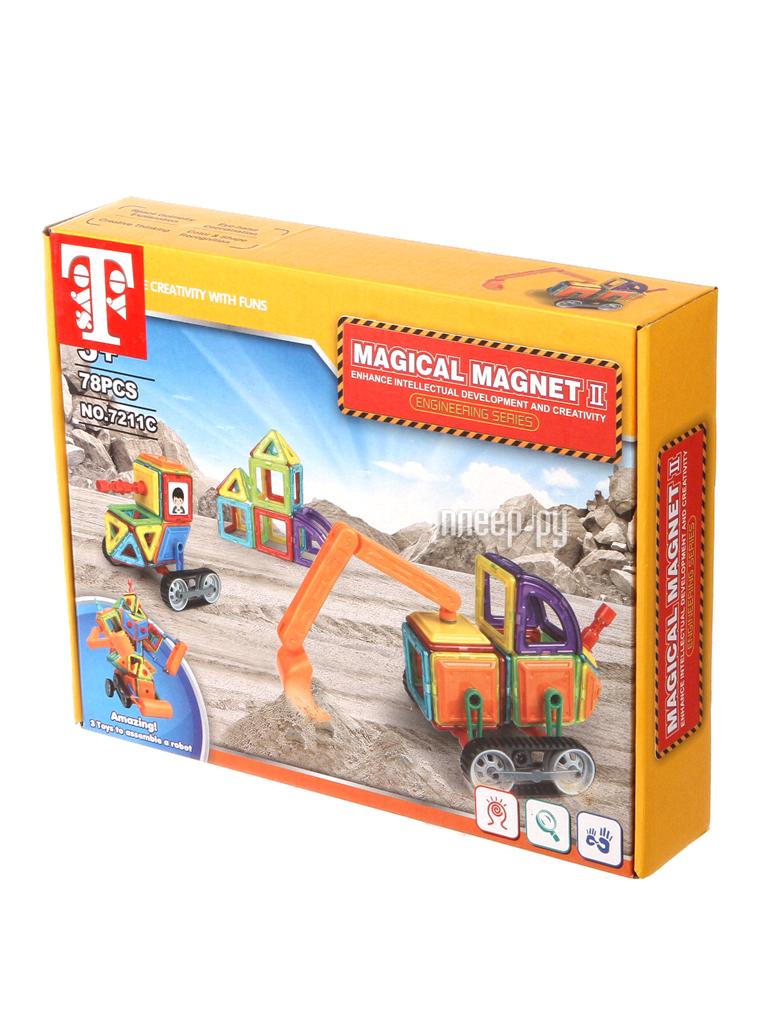 Конструктор Toy Toys Магнитный 78 деталей TOTO-001