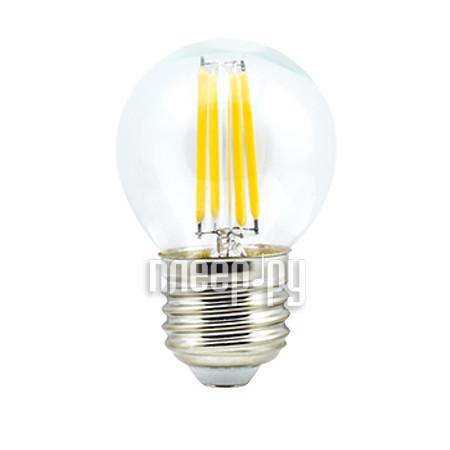 Лампочка Ecola Globe LED Premium E27 6W G45 220V 2700K N7PW60ELC