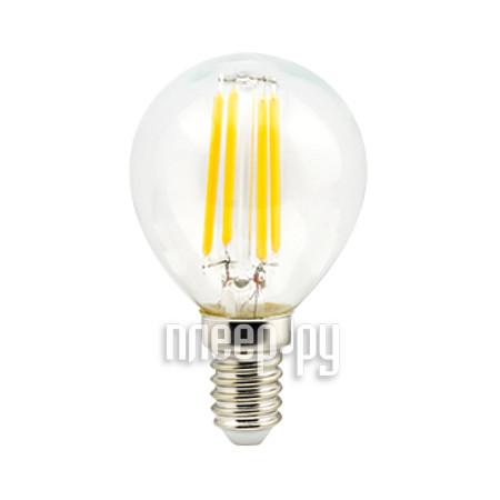 Лампочка Ecola Globe LED Premium E14 6W G45
