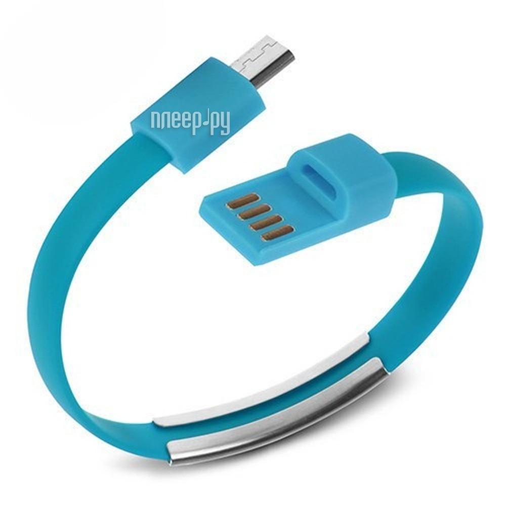 Аксессуар Activ USB - micro USB - Cabelet Mono Blue 46897