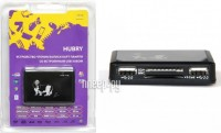 KS-is Hubry KS-054 All-in-One card reader + 3 ports HUB