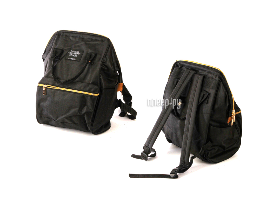 Рюкзак Megamind Living Traveling Black М6780