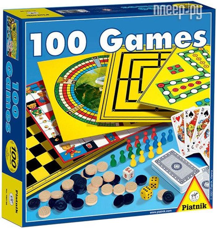 Настольная игра Piatnik 100 игр 780196