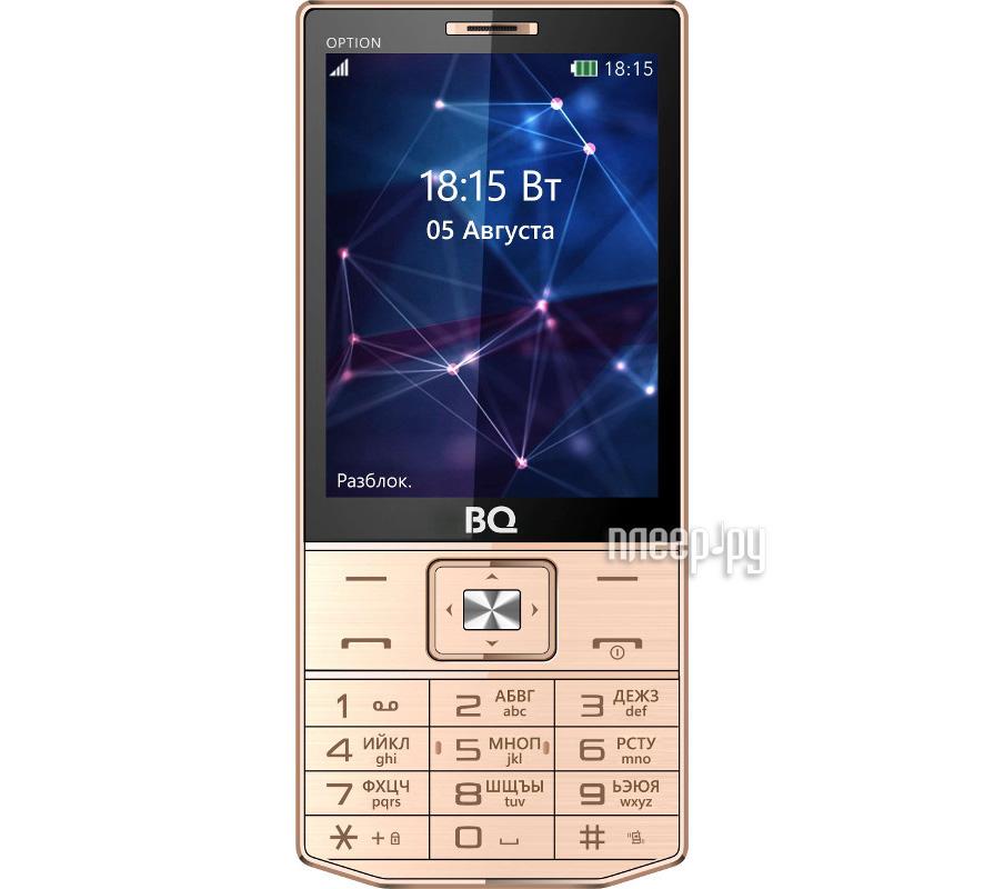 Сотовый телефон BQ Mobile BQ-3201 Option Gold