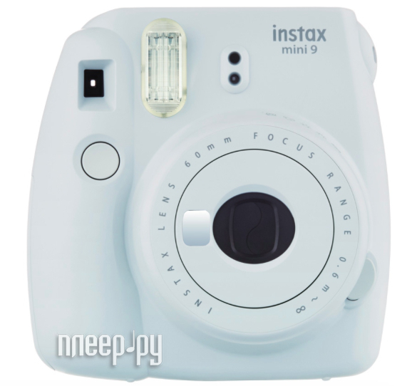 Фотоаппарат FujiFilm Instax Mini 9 Smoky White