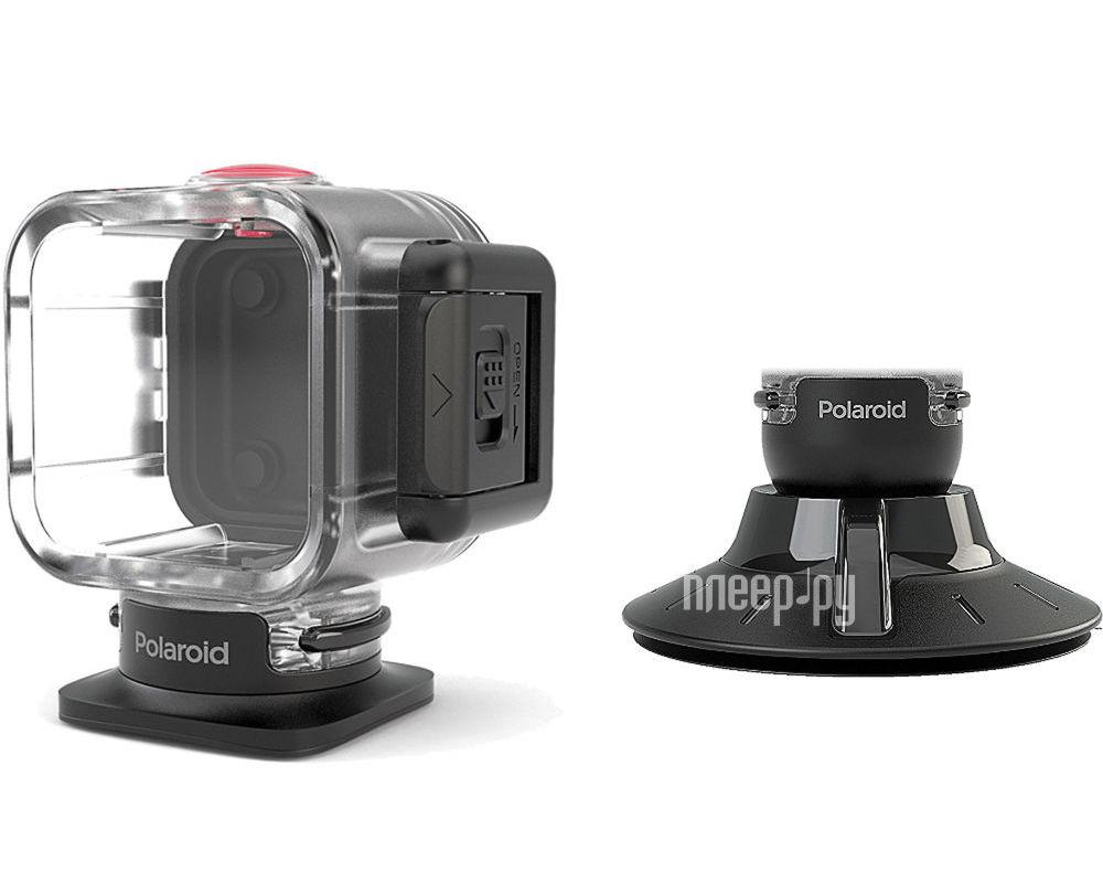 Аксессуар Polaroid POLC3WSM Cube Waterproof Case with Suction Mount