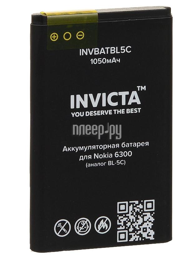 Аккумулятор Nokia 6300 1050mAh INVICTA INVBATBL5C