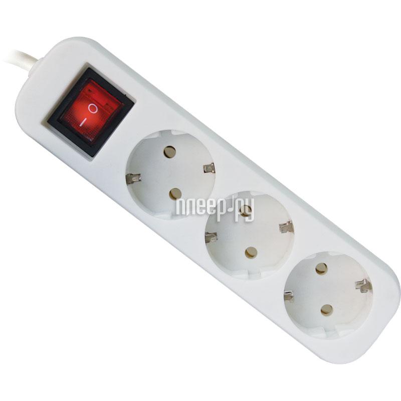 Сетевой фильтр Defender S318 3 Sockets 1.8m 99233 за 122 рублей