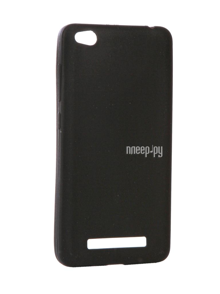 Аксессуар Чехол Xiaomi Redmi 4A Zibelino Soft Matte Black ZSM-XIA-4A-BLK