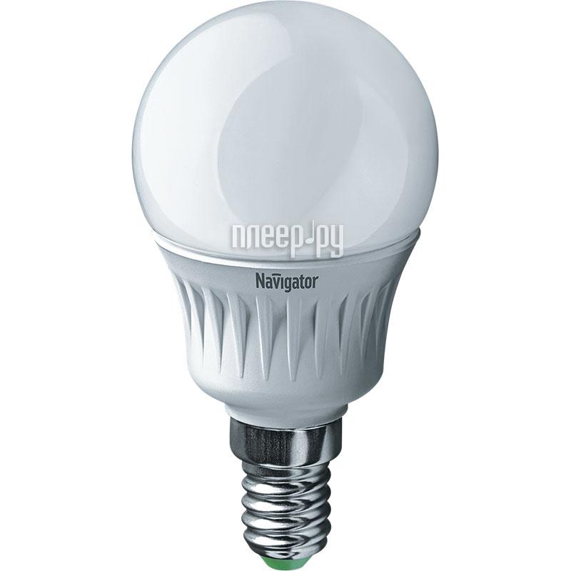 Лампочка Navigator 61 252 NLL-P-G45-5-230-6.5K-E14