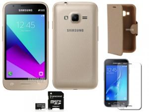 Купить Сотовый телефон Samsung SM-J106F/DS Galaxy J1 Mini Prime Gold Выгодный набор + подарок серт. 200Р!!