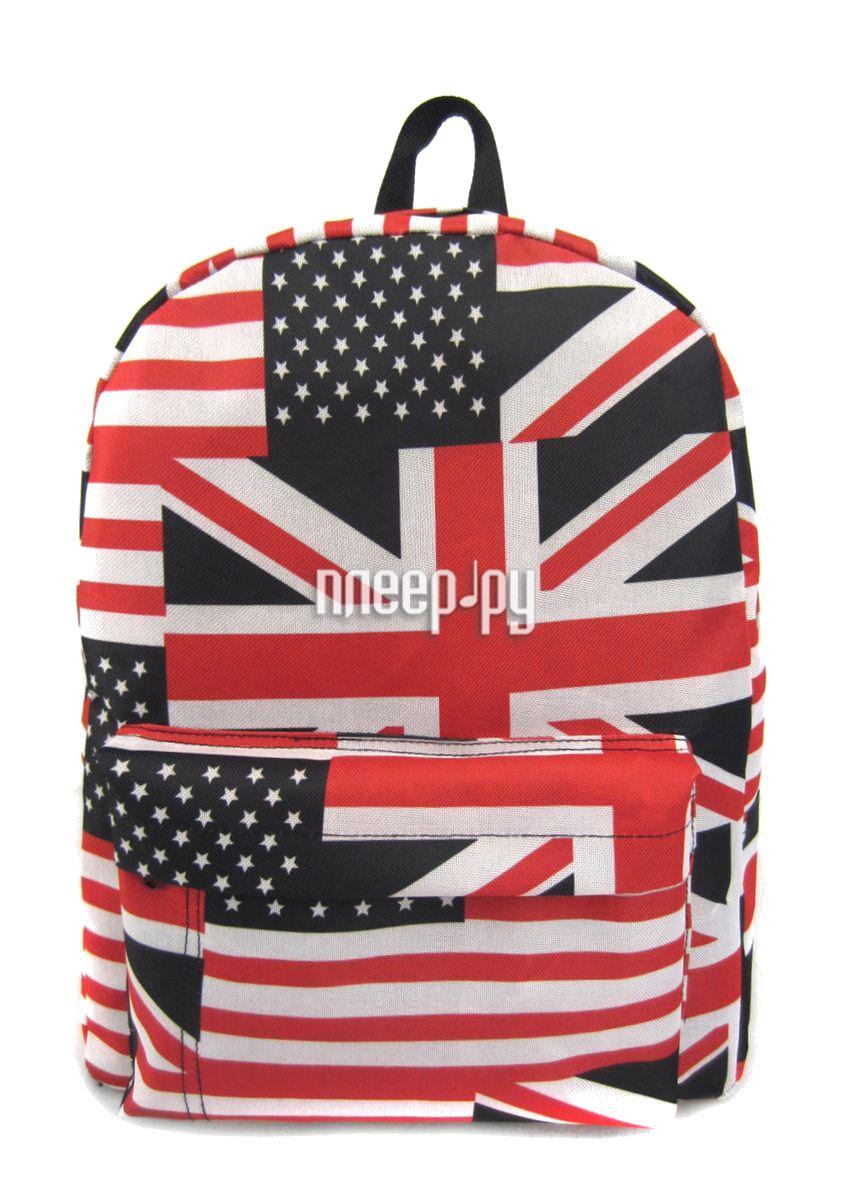 Рюкзак Creative LLC American Flag с карманом Multi GL-BC875