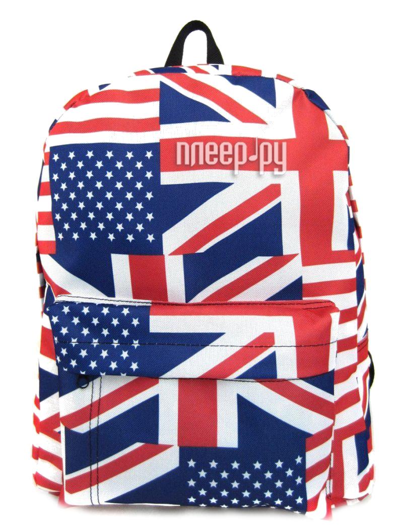 Рюкзак Creative LLC British Flag с карманом Multi GL-BC876
