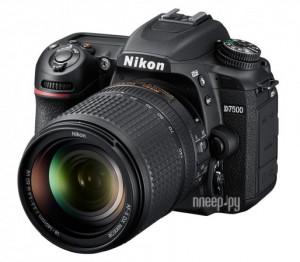 Купить Фотоаппарат Nikon D7500 Kit 18-140 mm f/3.5-5.6G ED VR DX AF-S