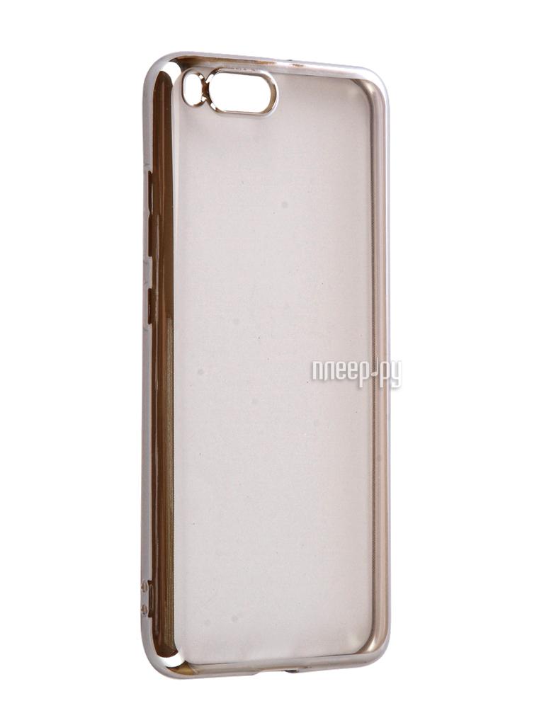 Аксессуар Чехол Xiaomi Mi6 iBox Blaze Silicone Silver frame за 569 рублей