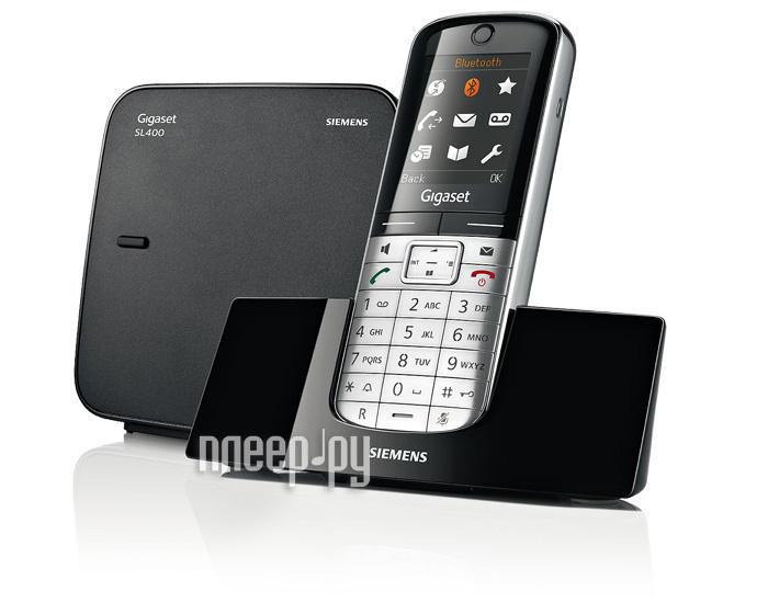 Радиотелефон Gigaset SL400  Pleer.ru  5310.000