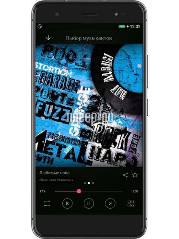 Сотовый телефон Highscreen Fest Xl Black