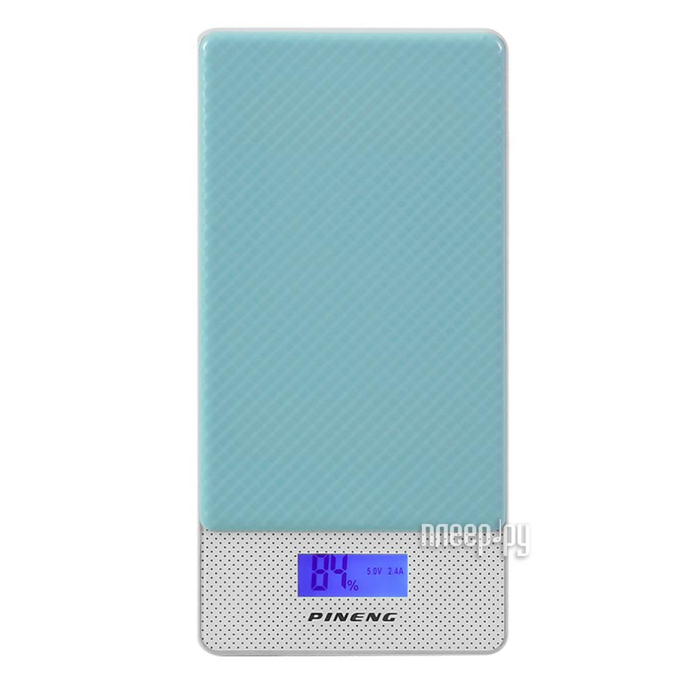 Аккумулятор Pineng PN-993 10000mAh Light Blue