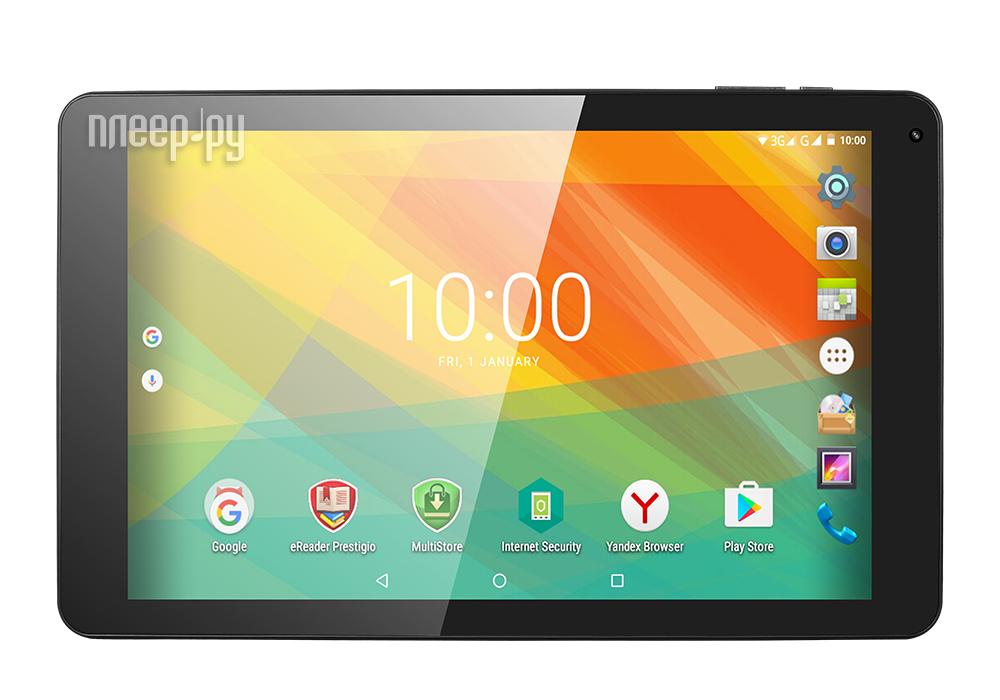 Планшет Prestigio MultiPad Wize 3131 Black UEPMT31313GCCIS 3G DCIS (MediaTek MTK8321 1.3 GHz / 1024Mb / 8Gb / 3G / Wi-Fi / Cam / 10.1 / 1280x800 / Android)