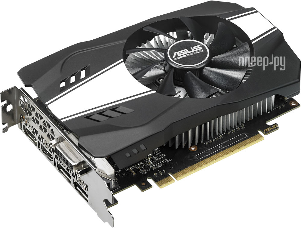 Видеокарта ASUS GeForce GTX 1060 1506Mhz PCI-E 3.0 3072Mb 8008Mhz 192 bit 2xDVI HDMI HDCP PH-GTX1060-3G