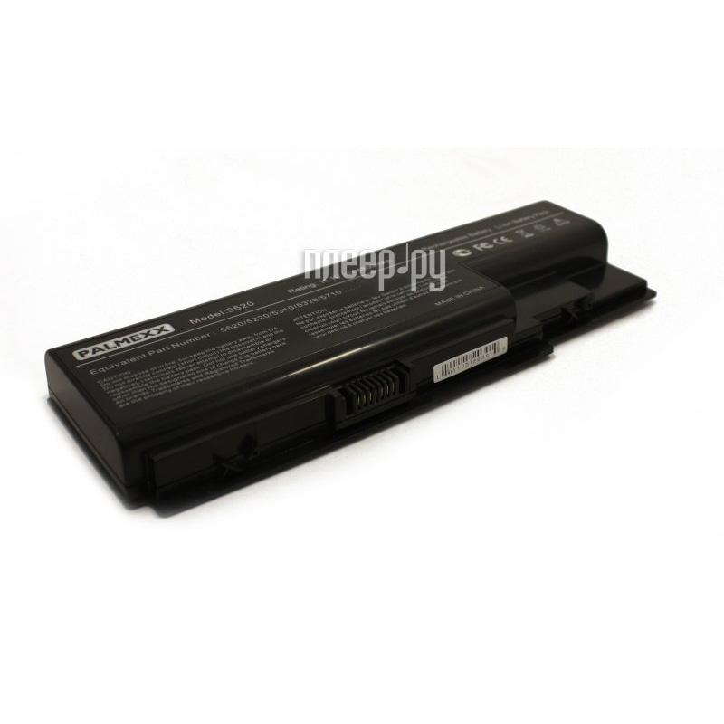 Аккумулятор Palmexx Acer 5520 5200mAh Black PB-010