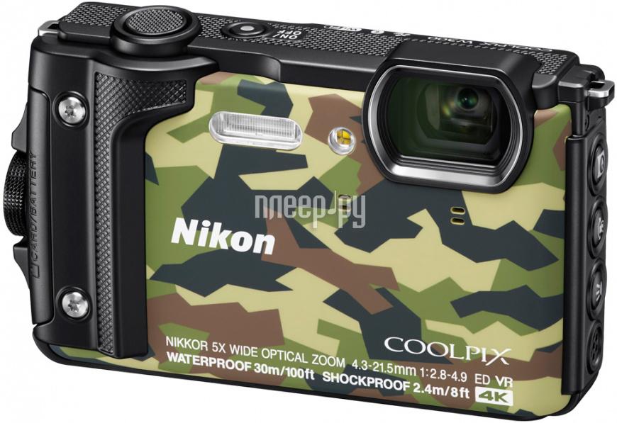 Фотоаппарат Nikon Coolpix W300 Grey