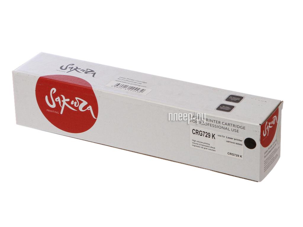 Картридж Sakura SACRG729K Black для Canon LBP7010C / 7018C 1200к