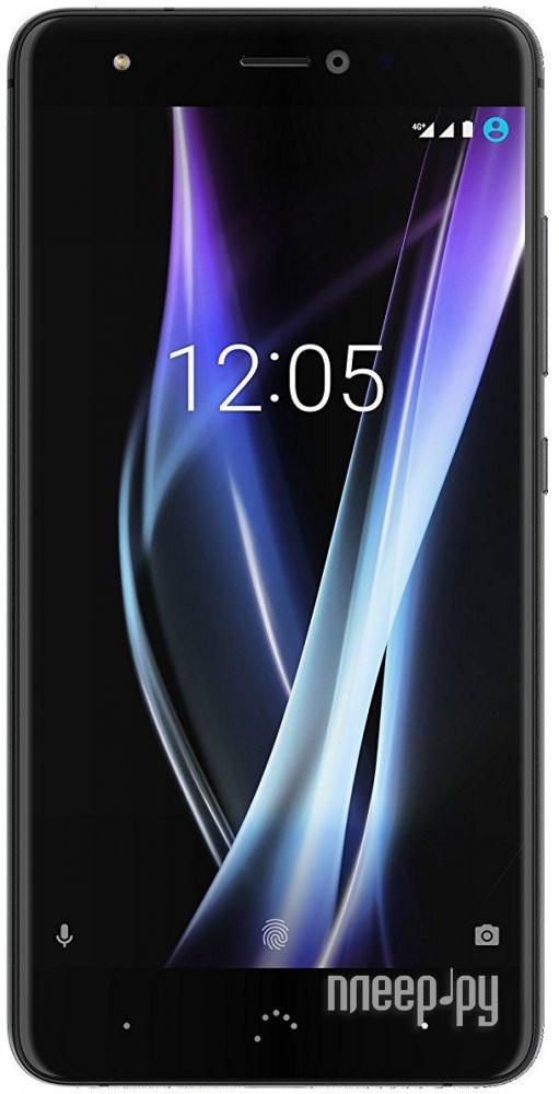 Сотовый телефон BQ Aquaris X Pro 64Gb Black-Midnight Black