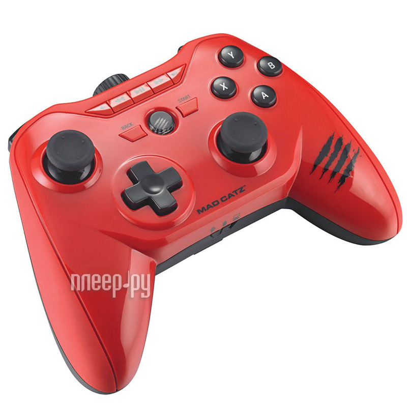 Гаджет Геймпад Mad Catz C.T.R.L.R Mobile Gamepad - Gloss Red+код Kaspersky Internet Security для Android PCAmc32