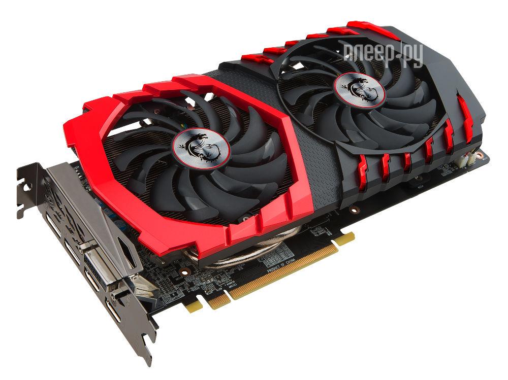 Видеокарта MSI Radeon RX 570 1268Mhz PCI-E 3.0 4096Mb 7000Mhz 256 bit DVI HDMI HDCP RX 570 GAMING 4G