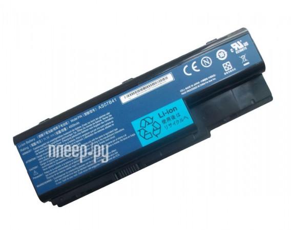 Аккумулятор Acer Aspire 5520/5720/7520 AS07B41 Pitatel 4800/5200 mAh BT-057 / D-NB-943  Pleer.ru  1850.000