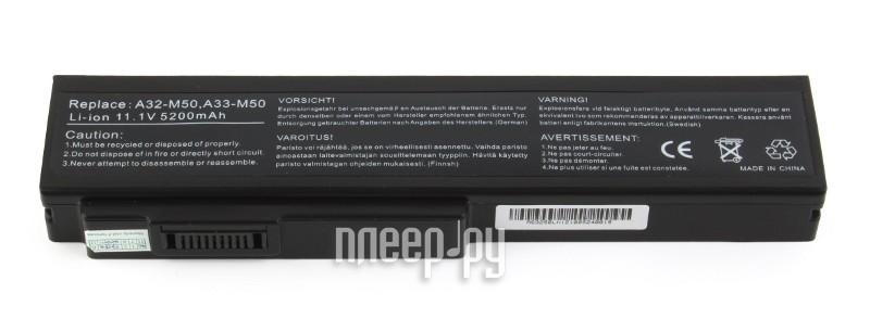 Аккумулятор ASUS A32-M50 for M50/X55s Pitatel 4800/5200 mAh BT-138 / D-NB-862  Pleer.ru  1850.000
