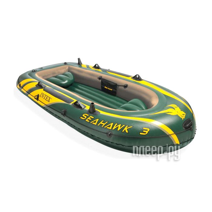 Надувная лодка Intex Seahawk 3 Set 68380