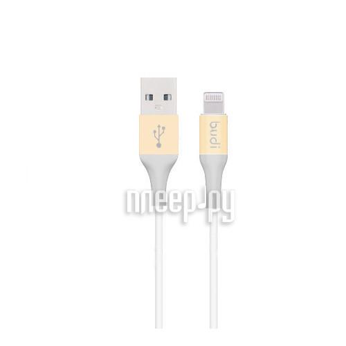 Аксессуар Budi USB - Lightning M8J143 1.2m Gold